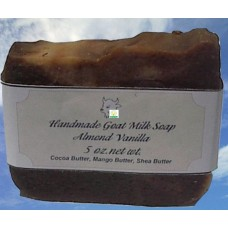 Goat Milk Soap Almond Vanilla 10 - 4 oz bars