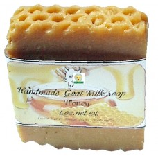 Goat Milk Soap Honey 10 - 4 oz bars