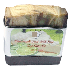 Goat Milk Soap Key Lime Pie 10 - 4 oz bars