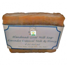 Goat Milk Soap Lavender Oatmeal Milk Honey 10 - 4 oz bars