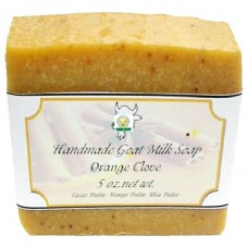 Goat Milk Soap Orange Clove 10 - 4 oz bars