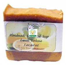 Goat Milk Soap Lemon Verbena 10 - 4 oz bars