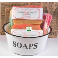 Goat Milk Soap Peppermint 10 - 4 oz bars